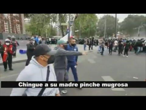 """EXCLUSIVA: """"¡Denles en la madre!""""; hombres policía, de civil, coordinaron operativo del 8M"""