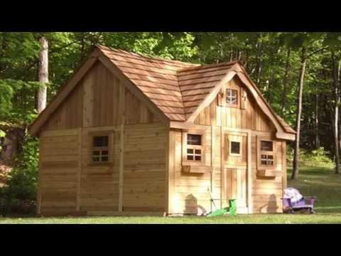 Поделка домик из дерева для детей своими руками