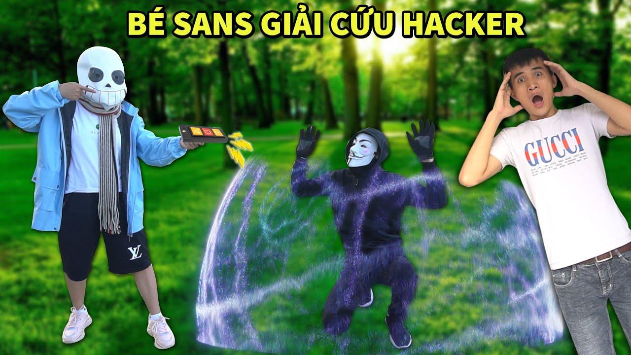 Hacker Triệu Hồi Bé Sans Giải Thoát Khỏi Nhà Vòm - Tập 18 (Hacker vs Sans)