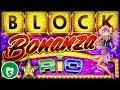 ⭐️ New - Block Bonanza Rio slot machine, bonus