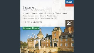 Brahms: 4 Ballades, Op.10 - No.3 in B minor