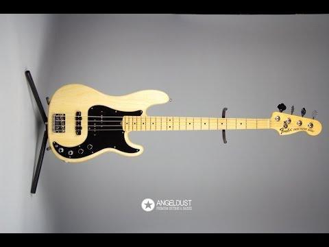 Fender Preicison American Deluxe 4 2010 Natural Ash [angeldust review]