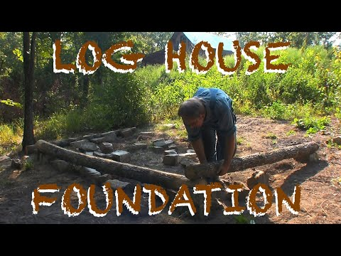 Building an Old-fashioned Log Chicken House, Part 1 - The FHC Show, ep 14