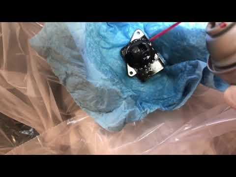 MAF Mass Airflow Sensor Cleaning on a 2001 Toyota MR2 Spyder