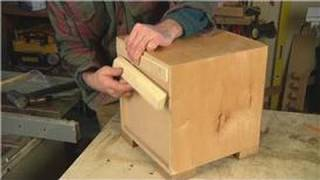 Home Remodeling Tips : How To Hang A Cabinet Using A French Cleat System