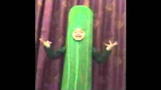 Soumii's Fancy Dress As Cucumber