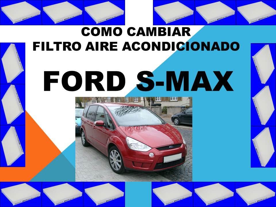 new product c1419 200e2 Como cambiar filtro aire acondicionado Ford S Max