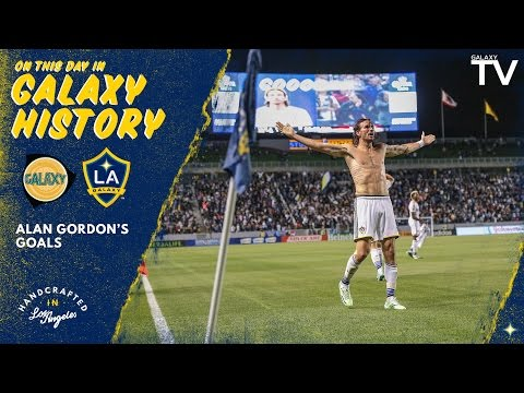 HIGHLIGHTS: All of Alan Gordon's goals for the LA Galaxy