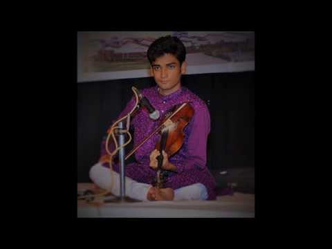 Raga Yaman Alap Indian Violin Abhishek Sinha