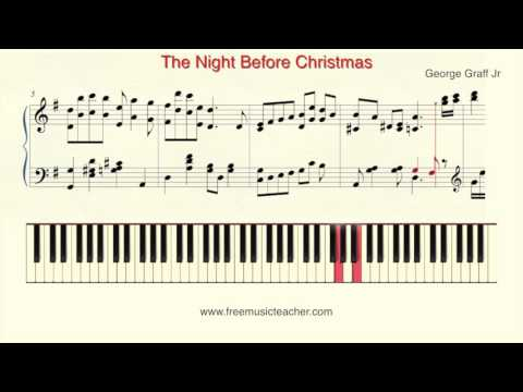 how-to-play-piano:-the-night-before-christmas-george-graff-jr