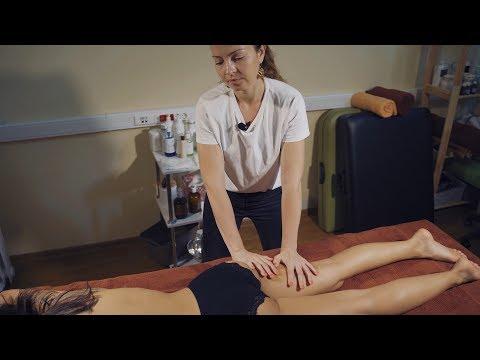 Как подготовить клиента к массажу? Демонстрирую на Алине