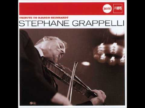 Stephane Grappelli  - Tributo to Django Reinhardt (Full álbum)