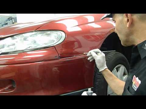 Touch Up Scratch Repair with Brush