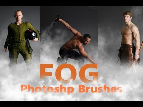 10 Photoshop Fog Brushes : How to use