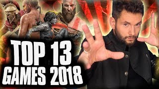 TOP 13 | GAMES 2018 | ROJOV13
