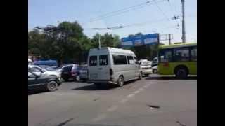 Пробки в Бишкеке (Киргизия)(, 2015-05-24T10:16:11.000Z)