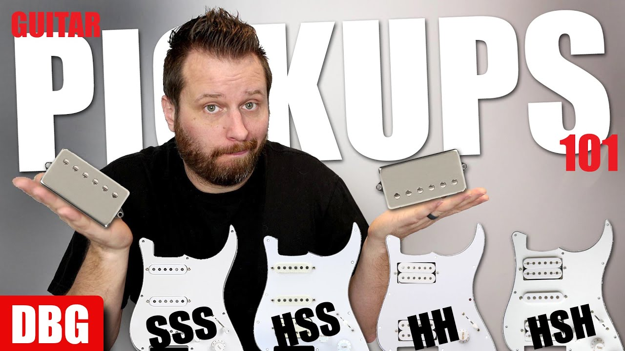 Guitar Pickups 101 - Here's Eveything You Need To know!