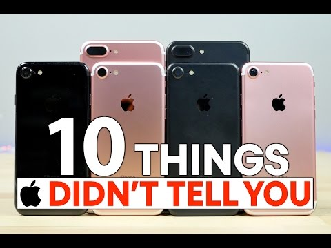 Thumbnail: 10 Things Apple Didn't Tell You About iPhone 7 & 7 Plus!