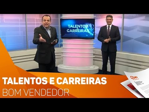 Talentos e Carreiras: Bom vendedor - TV SOROCABA/SBT
