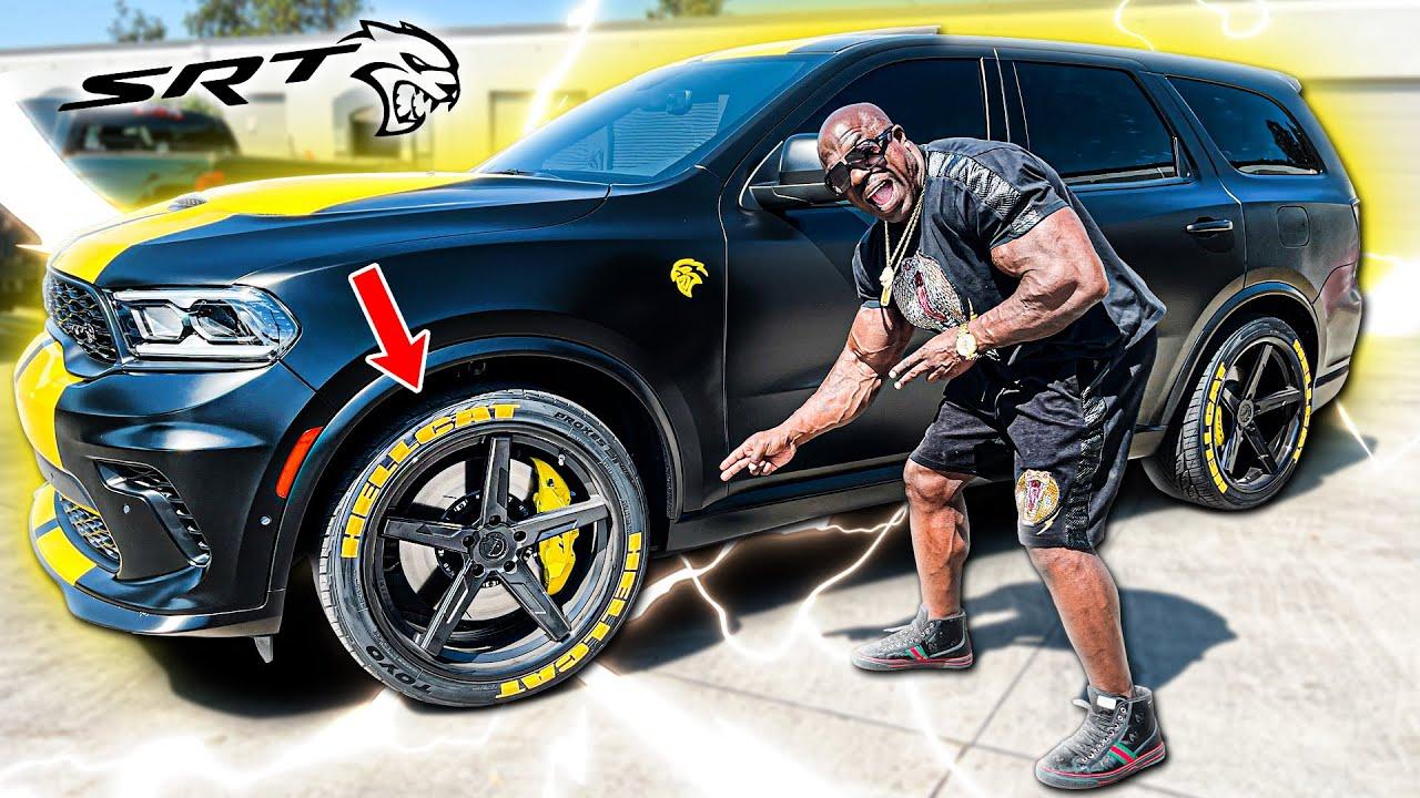 Dodge Durango Hellcat | Tire Upgrade