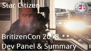 Star Citizen | BritizenCon 2018 Dev & Panel Summary
