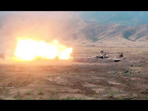 Прямо сейчас! Азербайджан уничтожил – армяне бегут. Позорное отступление, это конец! Карабах пал