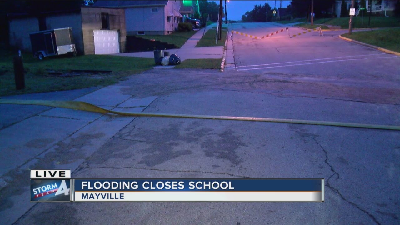 Update on the flooding in Mayville