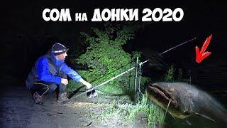 РЫБАЛКА на СОМА 2020 ЛОВЛЯ СОМА и НАЛИМА на ДОНКИ с БЕРЕГА