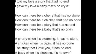 The Riddle Song (I gave my love a cherry) Children version