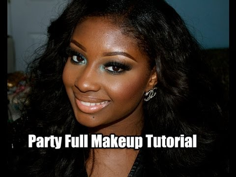 Makeup Tutorial | My Night Life/Party Look (Full Makeover)! Travel Video