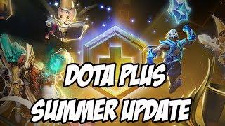 Dota Plus Summer Update 2018