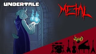 Undertale - Heartache 【Intense Symphonic Metal Cover】