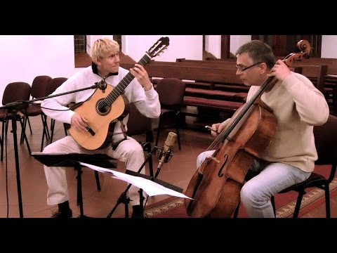 Marek PASIECZNY | POLISH SKETCHES (suite for cello and guitar) feat. Andrzej BAUER 🔴 New