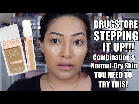 FLOWER BEAUTY LIGHT ILLUSION REVIEW HOLY GRAIL DRUGSTORE FOUNDATION!