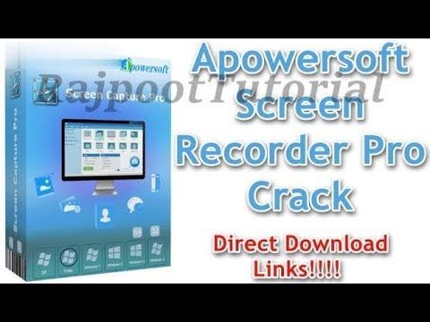 How To Download And Install Apowersoft Screen Recorder Pro (crack)  For Free