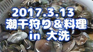 今シーズン通算2回目の潮干狩りは 茨城県大洗です(^^)/ 去年はハマグリ...
