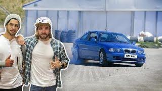 UN PILOTO DE F1 ME AYUDA A PREPARAR MI COCHE PARA DRIFT - Dani Clos derrapa con mi coche!!