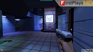 system Shock 2 (1999) - PC Gameplay 1080p / Win 10