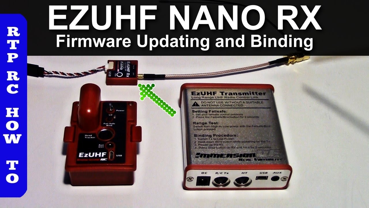 maxresdefault ezuhf nano rx updating firmware and binding to jr tx module and  at panicattacktreatment.co