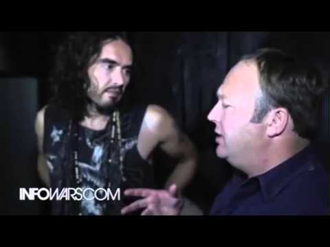 Russell Brand Exposed Promoted Obama goes on Alex Jones infowars