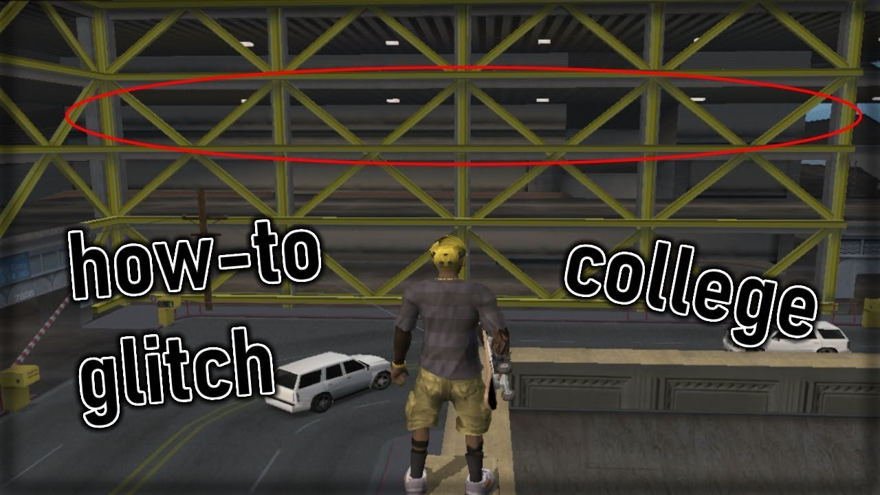 [THUG Pro] College - How to glitch to the third floor