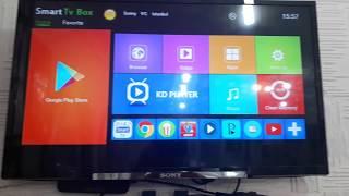 Android tv box x96 tanitimi  artilari eksileri anka smart iptv ve novaiptv  uygulaması tanıtımı Video