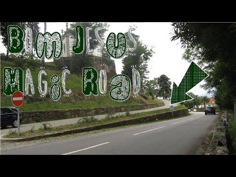 Gravity/Magnetic Hills Explained - Bom Jesus Magic Road