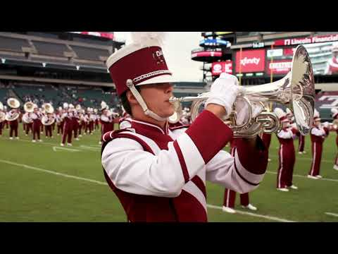 """WATCH Temple Marching Band take on Alice Merton's """"No Roots"""""""
