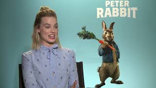 Margot Robbie - Peter Rabbit Interview (2018).flv