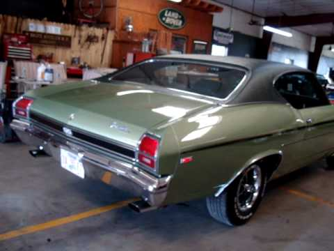 1969 Chevelle Ss 396 Amazing Low Mile Original Youtube