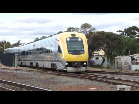 Kalgoorlie Train Action