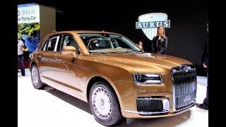 Aurus Senat - Rolls-Royce По-Русски Удивил Женевский Автосалон 2019