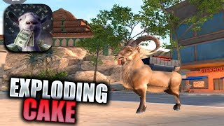 GOAT SIMULATOR PAYDAY Walkthrough Gameplay Part 1 - Chocolate Factory & Exploding Cake (iOS Android)