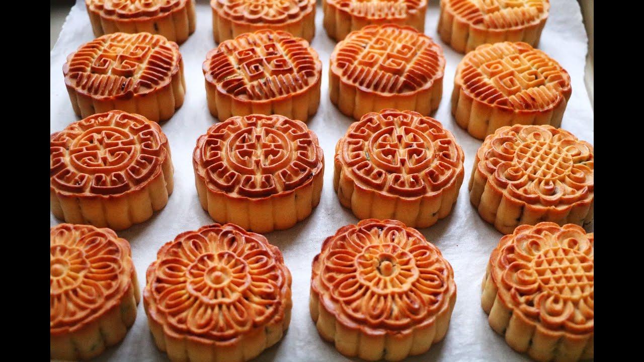 【五仁月餅】中秋要到了,在家做好吃的五仁月餅,香甜不油膩,做法超級詳細!